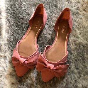 🆕 Size 8 - Pink - Bamboo Flats